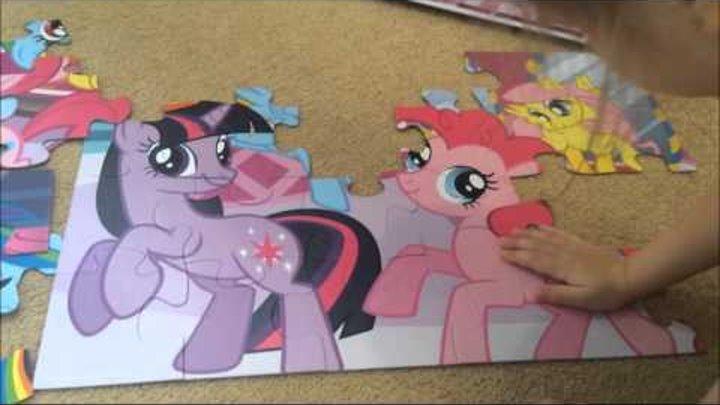 Пазлы Мои Маленькие Пони. My Little Pony. Дружба это чудо.