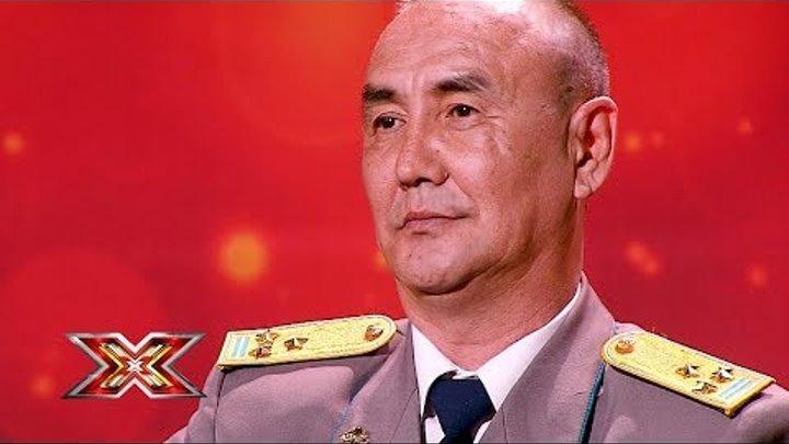 Марат Ешимбетов. X Factor Казахстан. Прослушивания. 7 сезон. Эпизод 1.