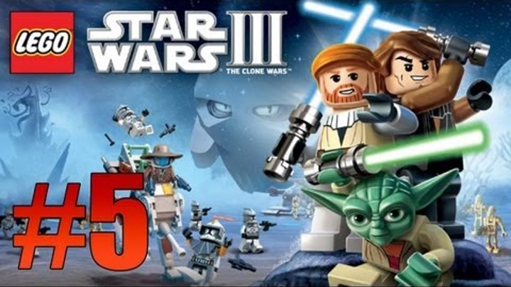 Lego Star Wars: The Clone Wars - Ch. 2 Shadow of Malevolence, Ambush! (Lets Play)