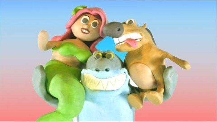 Zig & Sharko-Marina Adventure Play Doh Stopmotion Fun Cartoon