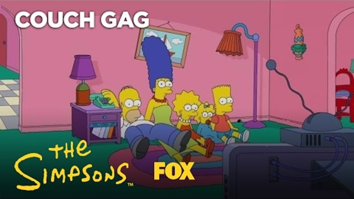 Big Bang Theory Couch Gag | Season 28 Ep. 19 | THE SIMPSONS
