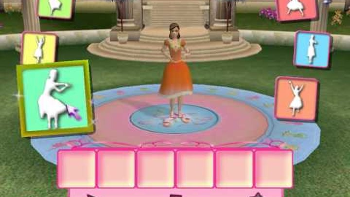 Прохождение игры Барби 12 танцующих принцесс часть 3