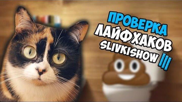 ПРОВЕРКА лайфхаков с канала SlivkiShow 3 | Лайфхак для туалета