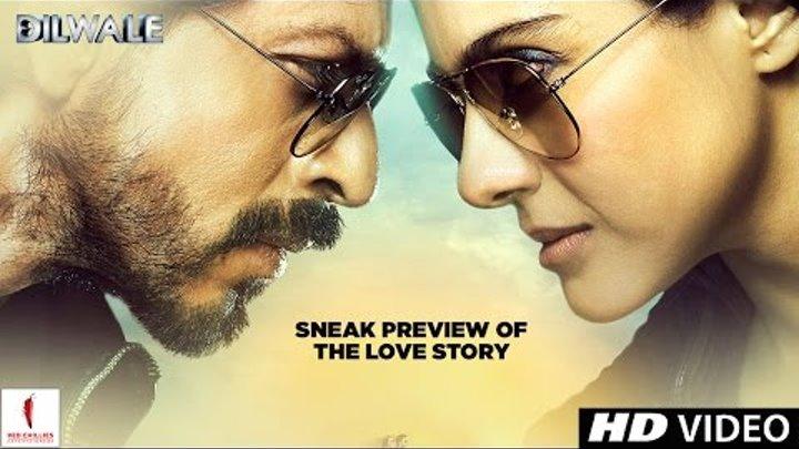Dilwale   Sneak preview of the love story   Kajol, Shah Rukh Khan, Krit Sanon, Varun Dhawan