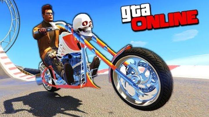 СУМАСШЕДШИЕ ГОНКИ НА НОВОМ БАЙКЕ ЗА 2.500.000$ В GTA 5 ONLINE