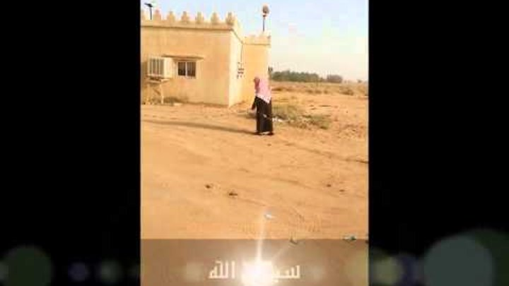 Blind Old Man Uses Rope To Reach Mosque