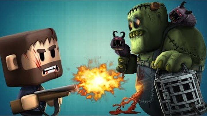 🕷 Игровой мультик про зомби апокалипсис 🐞 Minigore 2 Охотники на Зомби