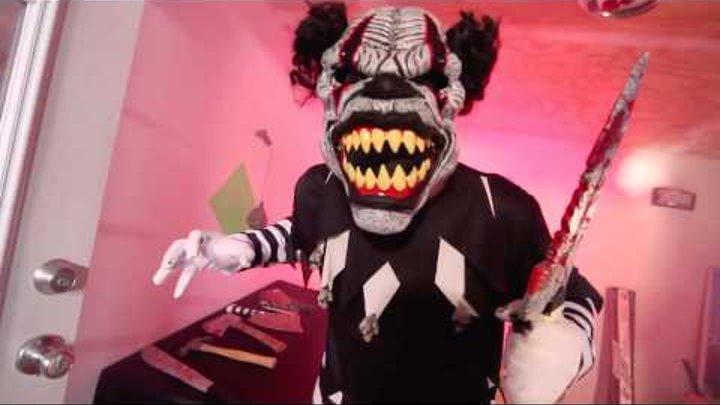 """Маска """"Демонический клоун"""""""