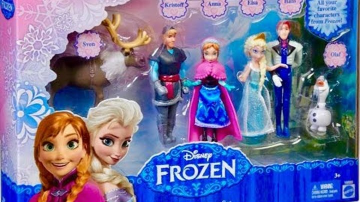 Открываем игрушки Холодное сердце,Микки Маус и Мини Маус, Дональд Дак и Дейзи Дак,Гуфи, Плуто и Пит.