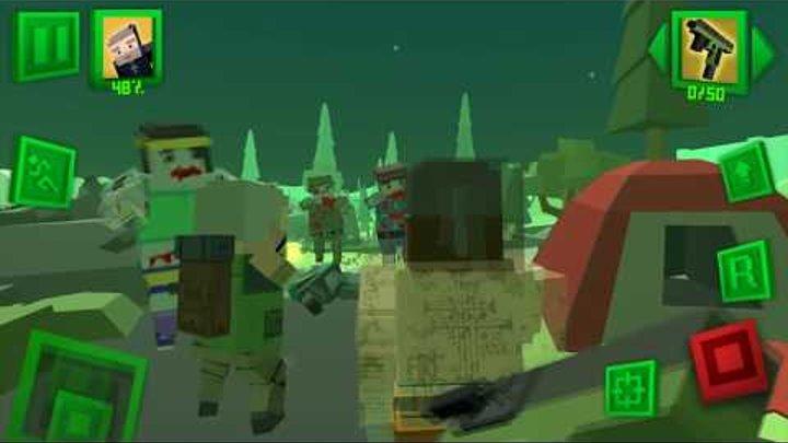 Нападение ЗОМБИ как МАЙНКРАФТ 6 Симулятор Выживания с зомби в Городе Зомби Апокалипсис