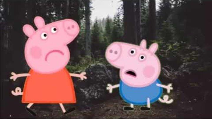 Пеппа и Джордж заблудились в лесу. Свинка Пеппа. Новые серии на русском языке. Peppa Pig.