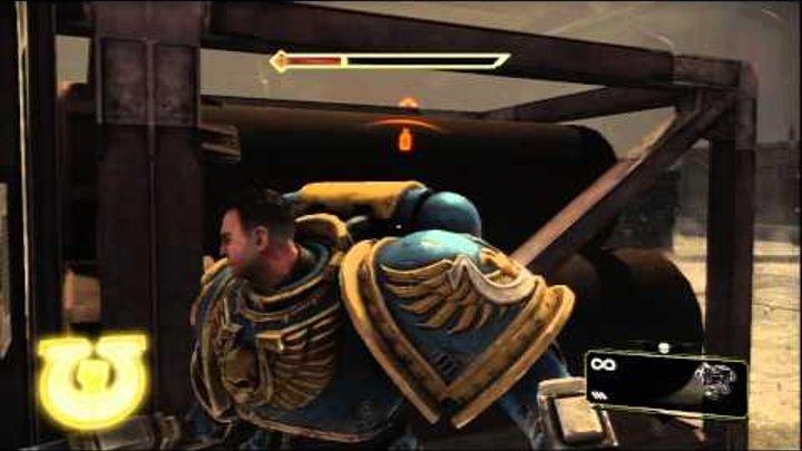 Warhammer 40000: Space Marine (PS3) Gameplay