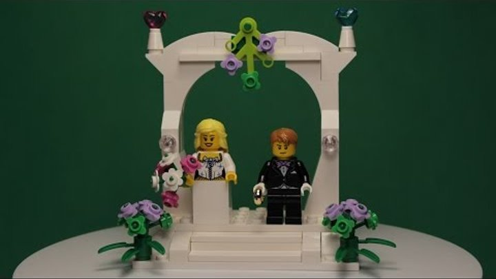 LEGO - MINIFIGURE WEDDING FAVOUR SET, 40165 / ЛЕГО МИНИФИГУРКИ - СВАДЕБНЫЙ ПОДАРОК, 40165.