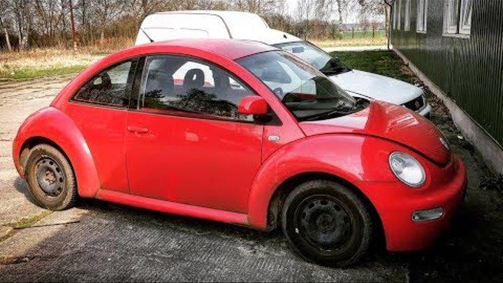 Volkswagen Beetle Из Германии красный жук за 400€