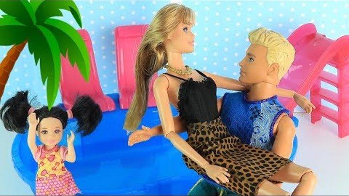 КЕН ТЕПЕРЬ С ДРУГОЙ??? Мультик #Барби Катя Школа Куклы Игрушки Для девочек IkuklaTV