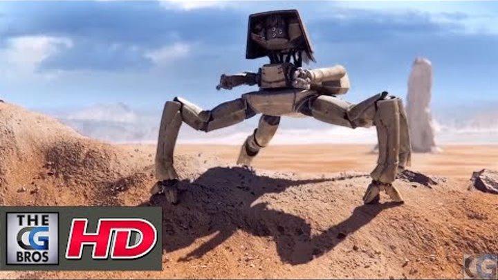 """CGI 3D Sci-Fi Short HD: """"Autonomous"""" by - Team Autonomous"""
