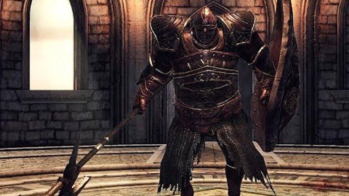 Dark Souls 2 - #2. Огненная Башня Хейда + босс - Драконий всадник.