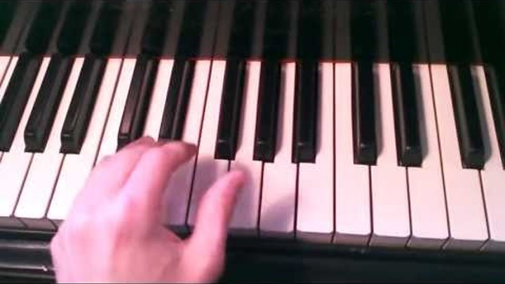 How To Play Boogie Woogie Piano - Bass Line 5