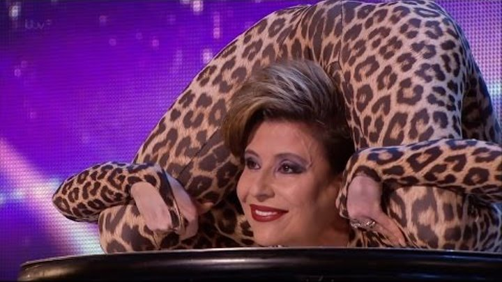 Britain's Got Talent 2015 S09E01 Freaky Contortionist Magdalena Full Video