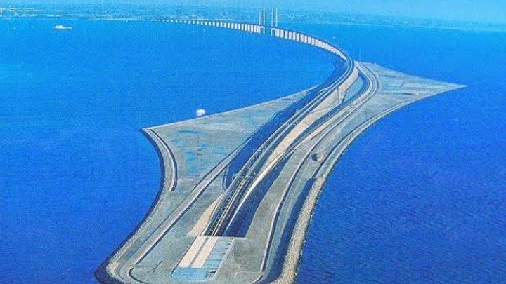 Эресуннский мост - тоннель Швеция - Дания: как мы по нему проехали