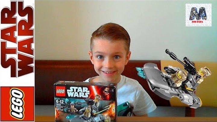LEGO. STAR WARS. Распаковка и обзор LEGO STAR WARS Лего Звездные войны