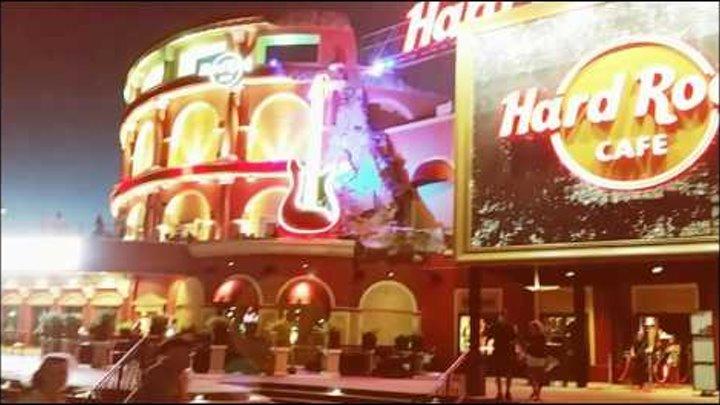 Прогулка в Халлувин (Halloween) по Юниверсал Студиос (Universal Studios) Сити Вок (City Walk) в США