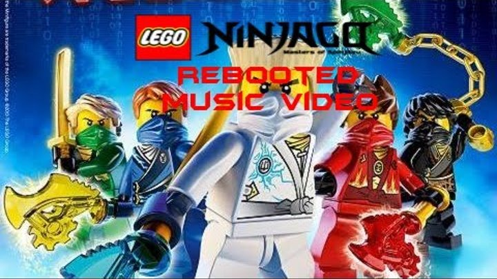 LEGO Ninjago Rebooted Music Video (After The Blackout, My First Music Video!)