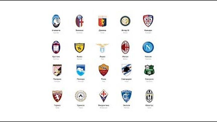 Футбол. Чемпионата Италии. Результаты 38 тура. Итоги Серия А. Турнирная таблица