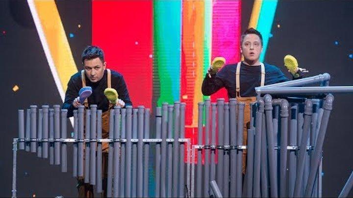 «Парни Саб Трубы». Категория «Музыка без границ». «Лига удивительных людей»