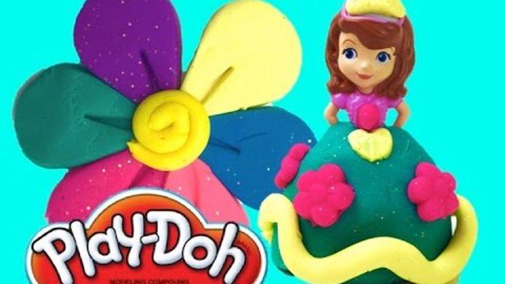 Play Doh Royal Sparkle Sofia the First Плей до набор пластилина Королевское сияние