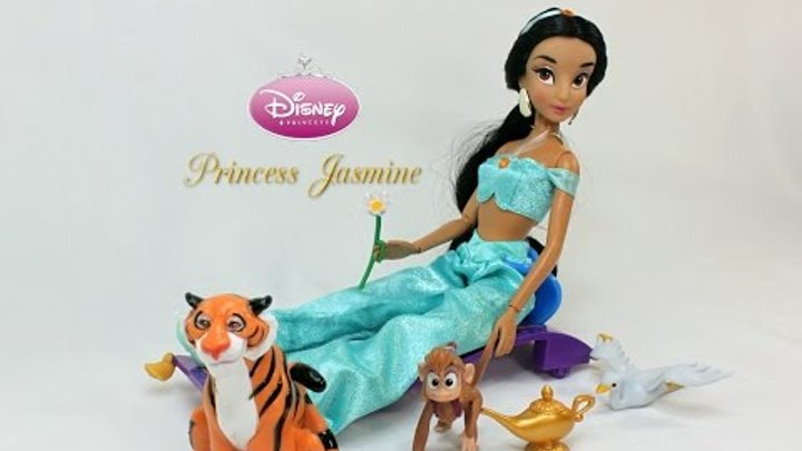 Disney Store | Aladdin | 2015 Deluxe Singing Jasmine Doll Review