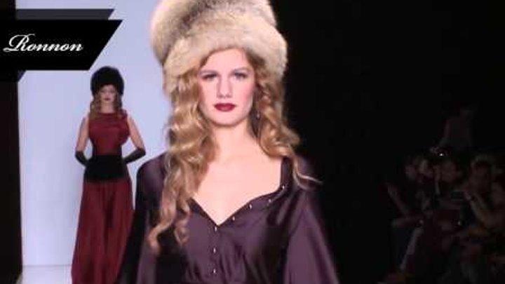 Ronnon на неделе высокой моды в Москве «Mercedes-Benz Fashion Week Russia 2013-2014».