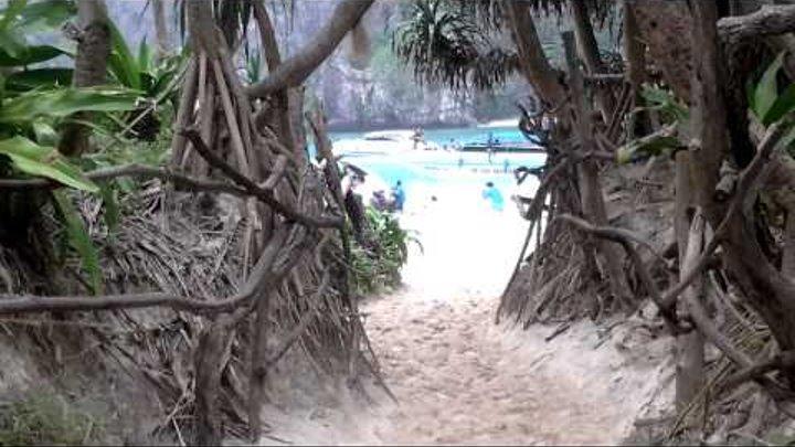 """Здесь снимался фильм """"Пляж"""" с Ди Каприо."""