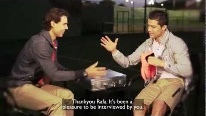 Rafael Nadal interview with Cristiano Ronaldo (english subtitles)
