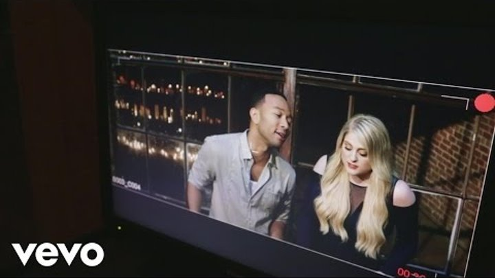 Meghan Trainor - Behind the Scenes of Like I'm Gonna Lose You ft. John Legend