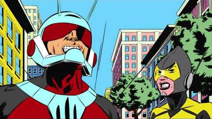 Marvel - Человек-муравей - мультфильм по легендарным комиксам (Сезон 1, Серия 6)