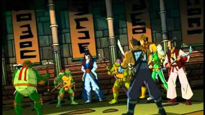 Черепашки ниндзя: 5 сезон 2 серия демоны и драконы(TMNT 2003)