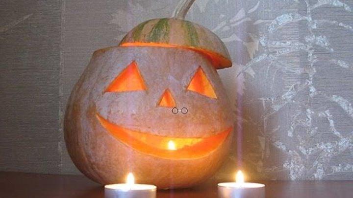 Как сделать огненную тыкву Хэллоуин Подарки самые простые поделки из тыквы Поделки своими руками