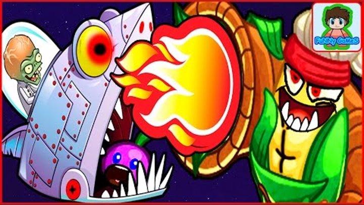 Игра Зомби против Растений Герои от Фаника Plants vs zombies Heroes 20