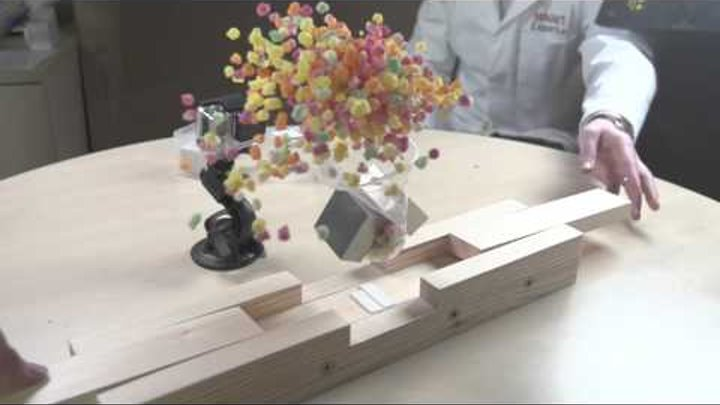 Super-strong neodymium magnets destroying everyday items in slow motion