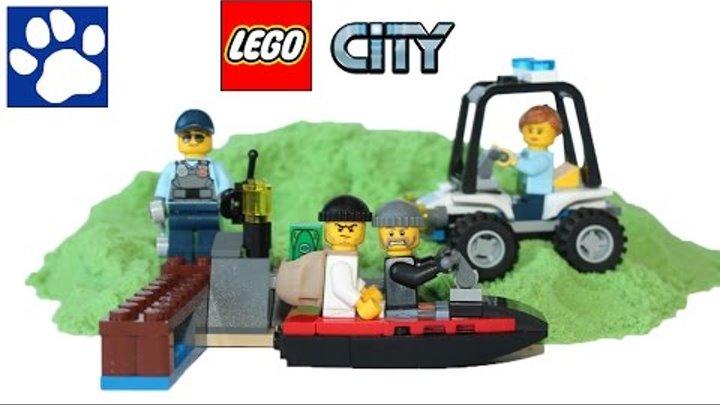 ЛЕГО Сити Остров-тюрьма 60127. Распаковка ЛЕГО Тюрьма на острове | Unboxing LEGO City Prison Island