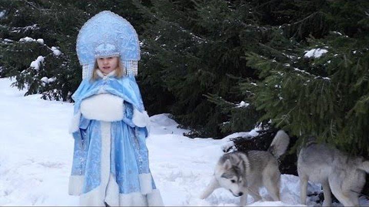"""""""Снегурочка"""" - исполняет Сашенька Артёменко"""