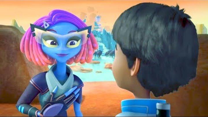 Майлз с другой планеты - Квест Галаксиас/ Путешествие на Солнце - Сезон 2 Серия 7 Мультфильм Disney