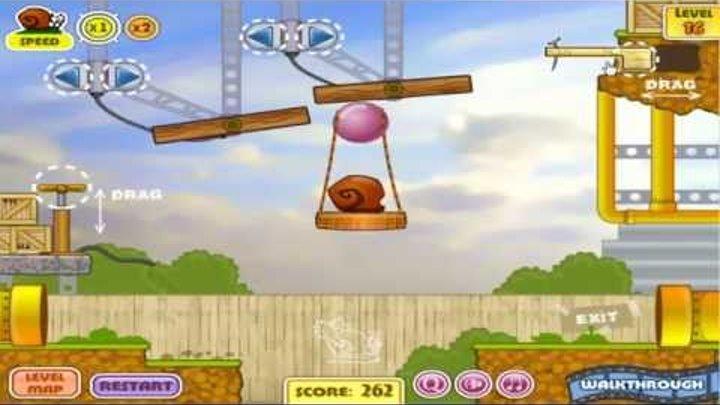 Snail Bob 1 Прохождение Levels 1-20 All Levels