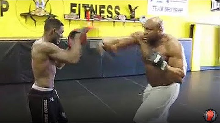 Bob Sapp Training for Rameau Thierry Sokoudjou at Dream 11