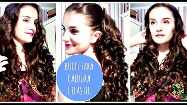 Bucle Naturale Fara Caldura Easy Curls No Heat Ombre Nails