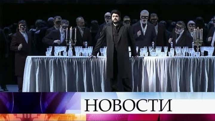 Большой театр представляет: опера Чайковского «Пиковая дама» в постановке Римаса Туминаса.