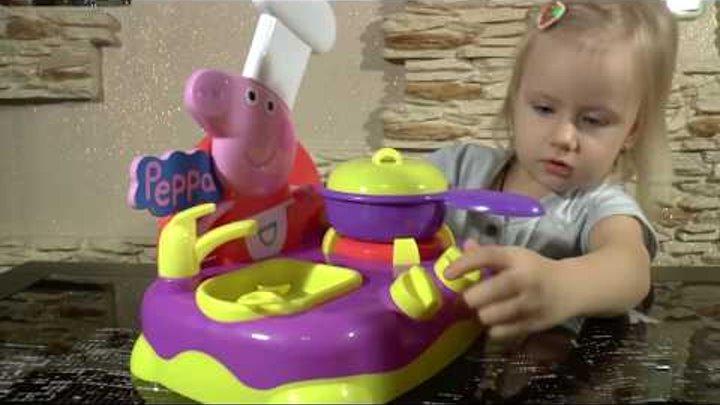 Свинка Пеппа на русском Кухня Пеппы. Игровой набор Peppa Pig от Диана Кидс