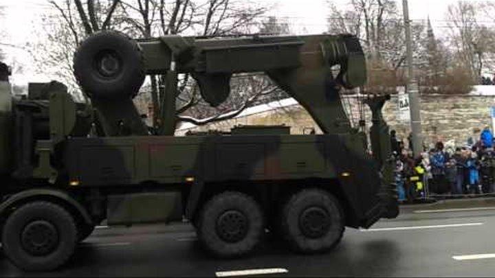 Военный парад в Таллине 24.02.2016.