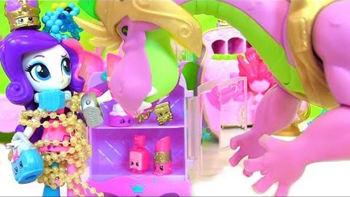 #МУЛЬТИК МАЙ ЛИТЛ ПОНИ Shopkins РАРИТИ ХОЧЕТ БЫТЬ КОРОЛЕВОЙ! JEWELS Игрушки для Девочек #Куклы